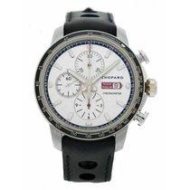 Chopard nové Automatika Mimostředná sekundová ručka Luminscenční hodinová a minutová ručka Chronometr Limitovaná série Luminiscenční prvky 44mm Ocel Safírové sklo