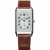 Jaeger-LeCoultre Reverso Duoface Steel 42.9mm Silver Arabic numerals