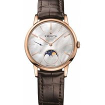 Zenith Rose gold Automatic Mother of pearl No numerals 36mm new