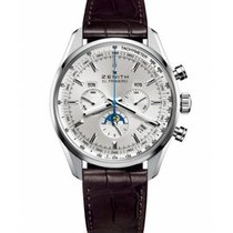 Zenith El Primero 410 new 2020 Automatic Watch with original box and original papers 03.2091.410/01.C494