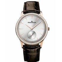 Jaeger-LeCoultre Master Grande Ultra Thin Rose gold 38.5mm Silver No numerals