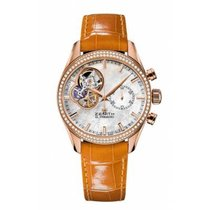 Zenith El Primero Chronomaster Lady Rose gold 38mm Mother of pearl No numerals