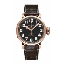 Zenith Rose gold Automatic Black 45mm new Pilot Type 20