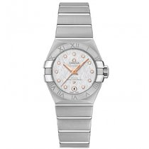 Omega Constellation Ladies new 2020 Automatic Watch with original box and original papers 127.10.27.20.52.001