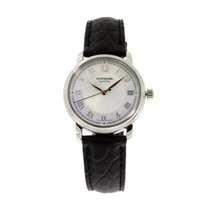 Montblanc 114366 Steel 2020 Tradition 40mm new