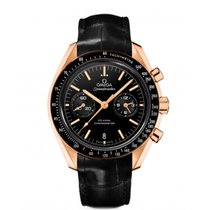 Omega Red gold Automatic Black No numerals 44.2mm new Speedmaster Professional Moonwatch