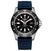 Breitling Steel Automatic Black No numerals 44mm new Superocean 44