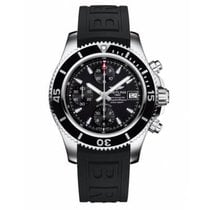 Breitling Steel Automatic Black No numerals 42mm new Superocean