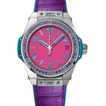 Hublot Big Bang Pop Art Steel 39mm Pink Arabic numerals