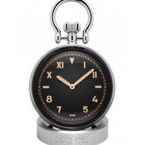 Panerai Table Clock Acero Negro