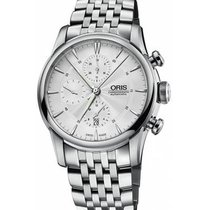 Oris Artelier Chronograph new 2020 Automatic Watch with original box and original papers 01 774 7686 4051-07 8 23 77
