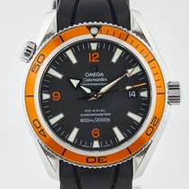 Omega Seamaster Planet Ocean pre-owned 42mm Black Date Rubber