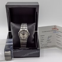 Omega Constellation Ladies Steel 35mm Silver No numerals United States of America, New York, Long Island City