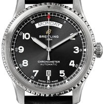 Breitling Aviator 8 Steel 41mm Black Arabic numerals United Kingdom, London