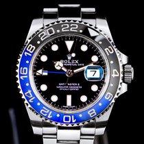 Rolex Steel Automatic Black No numerals 40mm new GMT-Master II