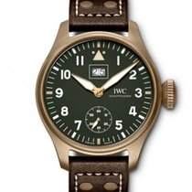 IWC Bronze Manual winding Green Arabic numerals 46.2mm new Big Pilot