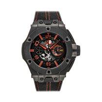 Hublot Big Bang Ferrari pre-owned 45mm Black Chronograph Date Rubber
