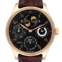 IWC Portuguese Perpetual Calendar Rose gold 44.2mm Black Arabic numerals United States of America, Georgia, Atlanta