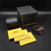 Breitling Superocean Chronograph M2000 usados 46mm Negro Cronógrafo Fecha Piel