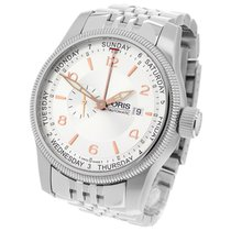 Oris Big Crown Small Second Pointer Day Acier 44mm Argent Arabes