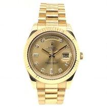Rolex Day-Date II Κίτρινο χρυσό 41mm Χρυσό