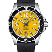 Breitling Steel Automatic Yellow 44mm new Superocean 44