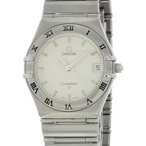 Omega Constellation Ladies pre-owned 34mm White Steel