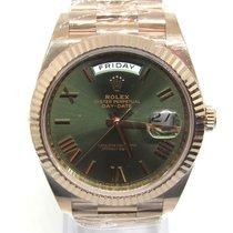 Rolex Day-Date 40 nuevo 2020 Automático Reloj con documentos originales 228235