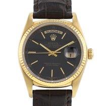 Rolex Day-Date 36 Or jaune 36mm Noir Sans chiffres France, Paris