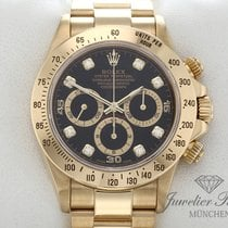 Rolex Or jaune Remontage automatique Noir 40mm occasion Daytona