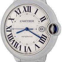 Cartier Ballon Bleu 42mm Steel 42mm Silver Roman numerals United States of America, Texas, Dallas