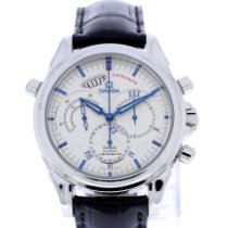 Omega De Ville Co-Axial Steel White