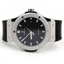 Hublot Classic Fusion 45, 42, 38, 33 mm Titanium 42mm Black No numerals United States of America, Florida, Aventura