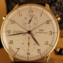 IWC IW3712 Yellow gold 2004 Portuguese Chronograph 41mm pre-owned