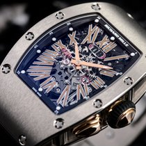 Richard Mille White gold Automatic RM 037