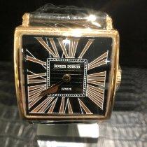 Roger Dubuis Golden Square Aur roz 43mm Negru