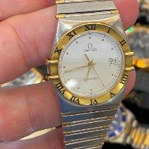 Omega Constellation usados Blanco Acero y oro