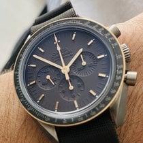 Omega Speedmaster Professional Moonwatch Titane 42mm Brun Sans chiffres