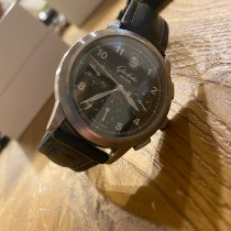 Glashütte Original Senator Navigator Chronograph Steel Black Arabic numerals
