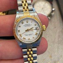 Rolex Lady-Datejust Acero y oro 26mm Blanco España, cadiz