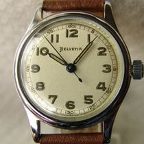 Helvetia Steel 32mm Manual winding pre-owned United States of America, New Jersey, Upper Saddle River