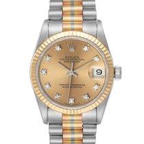 Rolex Datejust White gold 31mm Bronze