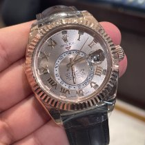Rolex Sky-Dweller Rose gold 42mm Pink Arabic numerals UAE, Dubai