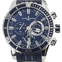 Ulysse Nardin Diver Chronograph Steel 44mm Blue United States of America, Illinois, BUFFALO GROVE