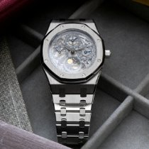 Audemars Piguet Royal Oak Perpetual Calendar Stahl 39mm Transparent