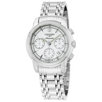 Longines Saint-Imier Steel 39mm Silver Arabic numerals United States of America, New Jersey, Somerset