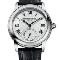 Frederique Constant Manufacture Classic Steel 42mm Silver Roman numerals