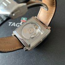 TAG Heuer Monaco Calibre 6 Acero 37mm Negro Sin cifras