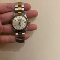 Rolex Oyster Perpetual Date Gold/Steel 34mm Gold No numerals United States of America, Massachusetts, Boston