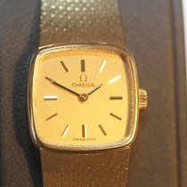 Omega Yellow gold 20mm Manual winding 8337 pre-owned